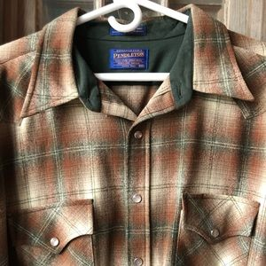 Pendleton Mens XXL Wool Shirt
